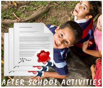 After School Activities PLR articles