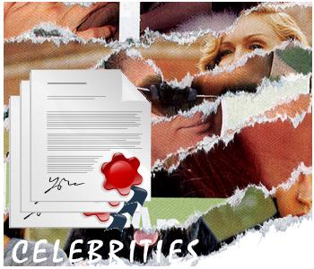 Celebrity PLR articles