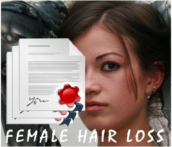 Female Hair Loss PLR articles