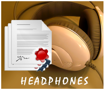 Headphones PLR articles
