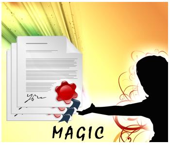 Magic PLR articles