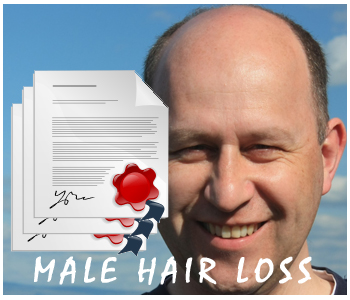 Male Hair Loss PLR articles
