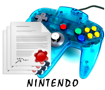 Nintendo PLR articles