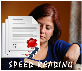 Speed Reading PLR articles
