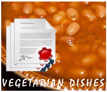 Vegetarian Recipes PLR articles