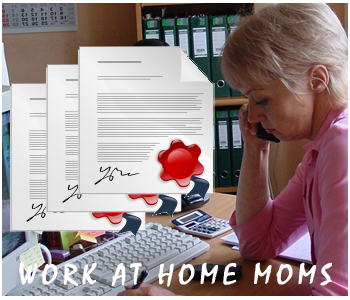 Work at Home Mom PLR articles