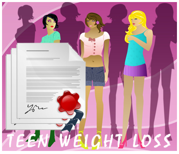 Teenage Weight Loss PLR Articles