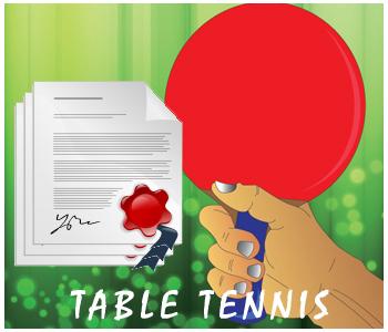Table Tennis PLR Articles