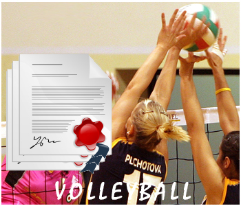 Volleyball PLR Articles